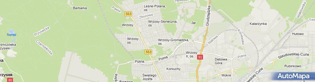 Zdjęcie satelitarne Asp Hurt Detal Gurdziel Sylwester Gurdziel Marcin