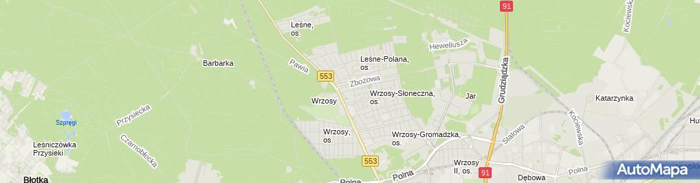Zdjęcie satelitarne Ass Andrzej Słomczewski Sławomir Słomczewski