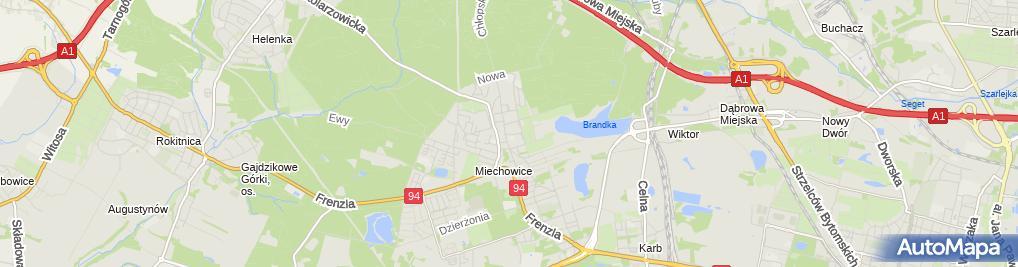 Zdjęcie satelitarne Assistance Pomoc Drogowa