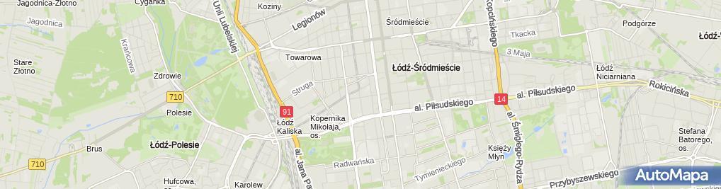 Zdjęcie satelitarne Atis Promocja-Handel-Usługi Włodzimierz Skoczek
