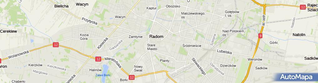 "Zdjęcie satelitarne ""Atleta"" Michał Górski"