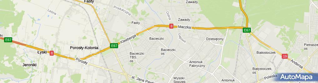 Zdjęcie satelitarne Atomic Rafał Plicki - Wspólnik Spółki Cywilnej