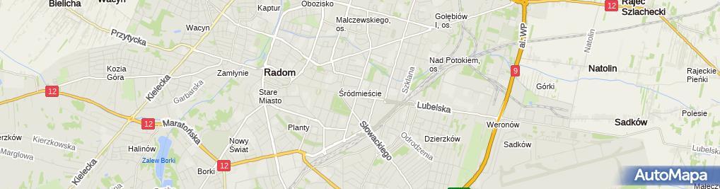 Zdjęcie satelitarne Ats S Sumiński M Nosek S Wietrzyński