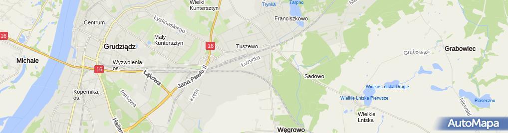 Zdjęcie satelitarne Auto-Handel Leszek Kleibert