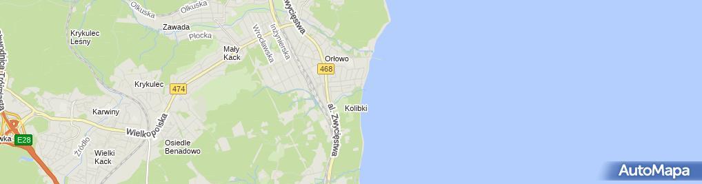 Zdjęcie satelitarne Auto Moto Service Mechanika Pojazdowa