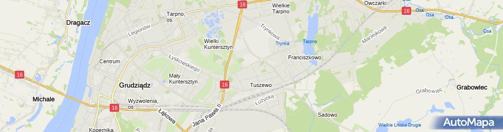 Zdjęcie satelitarne Auto - Naprawa'' Waldemar Tabor