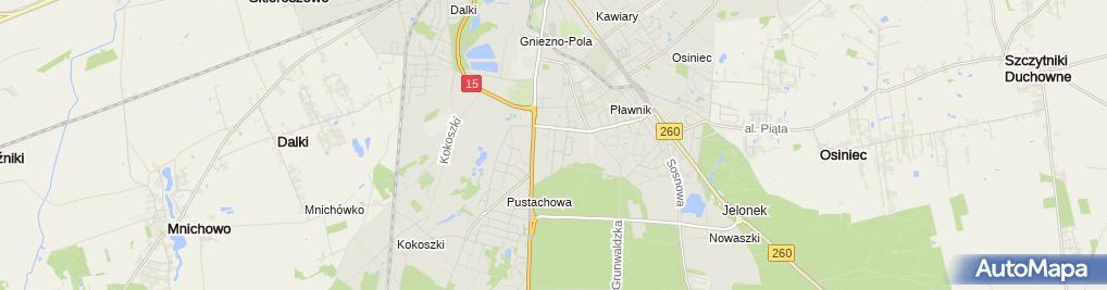 Zdjęcie satelitarne Auto-Servis Grzeszczak Michał Grzeszczak