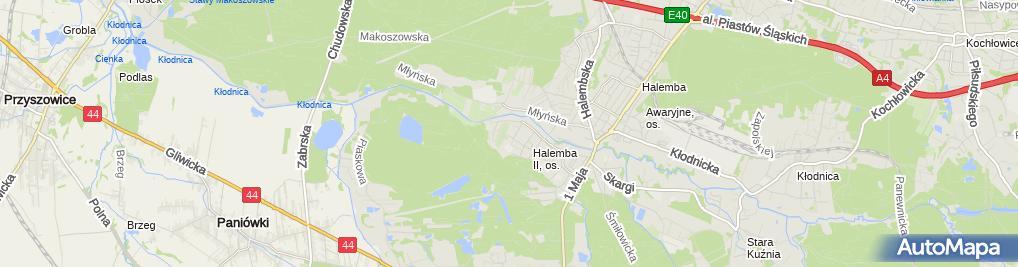 Zdjęcie satelitarne Auto Serwis