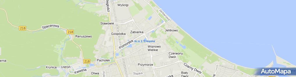 Zdjęcie satelitarne Auto Stach Usługi Ogólno Motoryzacyjne