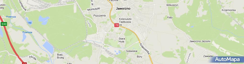 Zdjęcie satelitarne Auto Szyby Mirosław i Jakub Szynalik