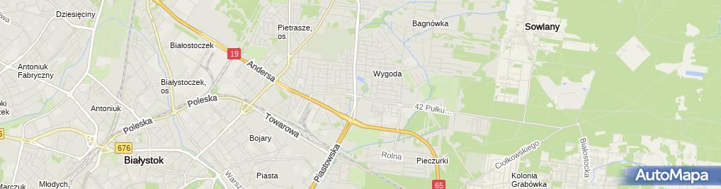 Zdjęcie satelitarne Autoserwis123 Spółka Cywilna