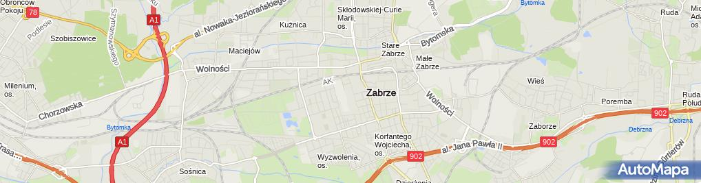 Zdjęcie satelitarne Azmar