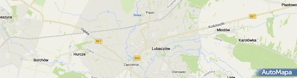 Zdjęcie satelitarne B L B Bolesław Lechman Bartosz Lechman