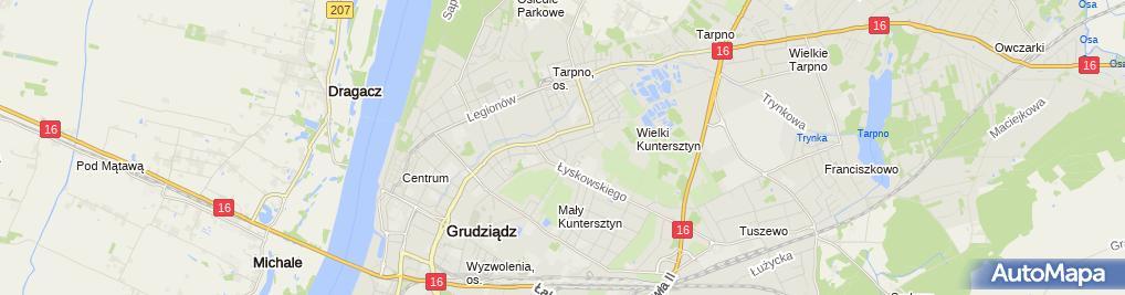 Zdjęcie satelitarne Bajeczny Sen Tomasz Paszkiewicz