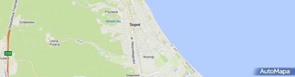 Zdjęcie satelitarne Baltic Corp