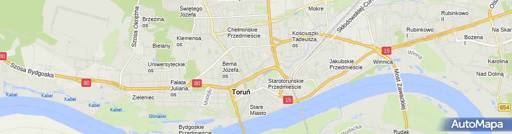 Zdjęcie satelitarne Bar od Świtu do Zmierzchu Teresa Marzec Izabela Gołębiewska