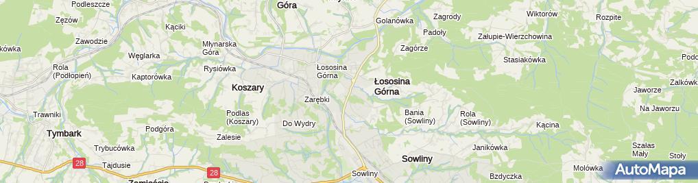 Zdjęcie satelitarne Barbara Dutka - Działalność Gospodarcza