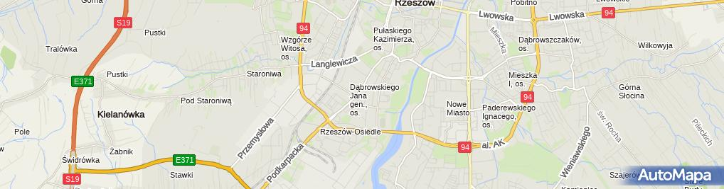 Zdjęcie satelitarne Barbara Klisiewicz - Działalność Gospodarcza