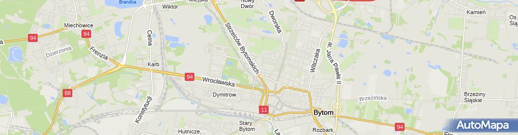 Zdjęcie satelitarne Barbara Rozworska - Działalność Gospodarcza