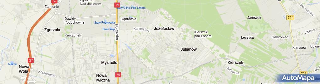 Zdjęcie satelitarne Batita Firma Handlowo Usługowa