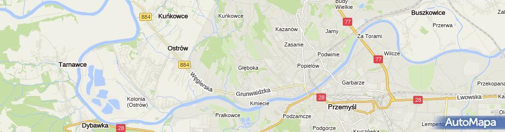 Zdjęcie satelitarne Beata Cichocka Zakład Usługowy