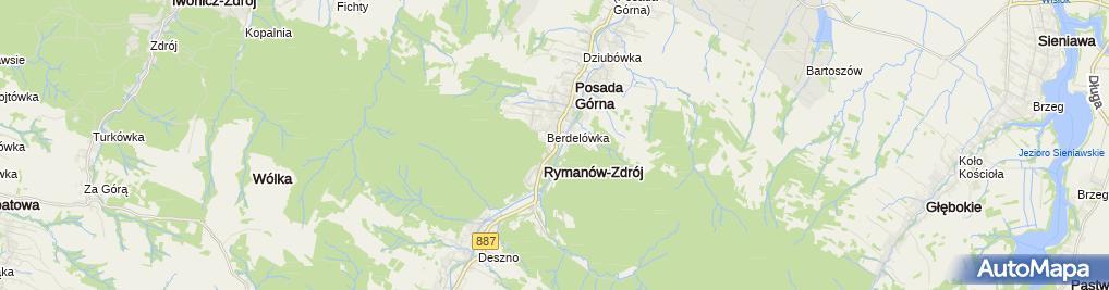 Zdjęcie satelitarne Beata Głowacka - Działalność Gospodarcza