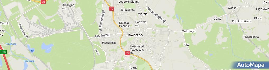 Zdjęcie satelitarne Beata Jeleń - Działalność Gospodarcza