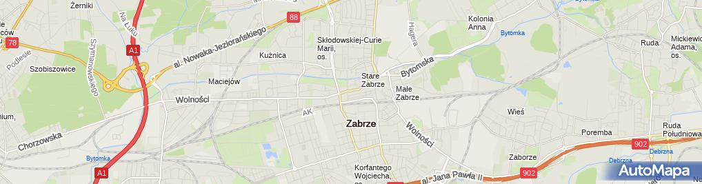 Zdjęcie satelitarne Beata Kawecka Florek
