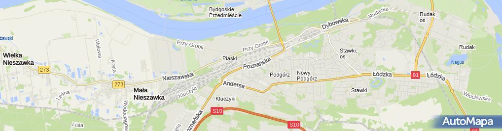 Zdjęcie satelitarne Beata Lewandowska Underhill