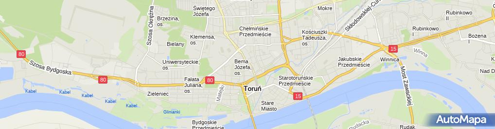 Zdjęcie satelitarne Beata Szuluk