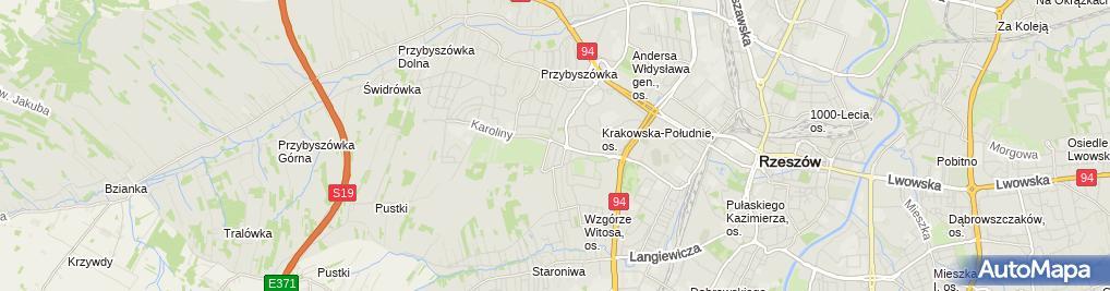 Zdjęcie satelitarne Bereza Bogumiła, Firma Handlowo-Usługowo- Produkcyjna Bogumiła Bereza