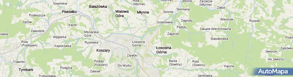 Zdjęcie satelitarne Biernat Wojciech Fpuh Smrek Wspólnik Spółki Cywilnej