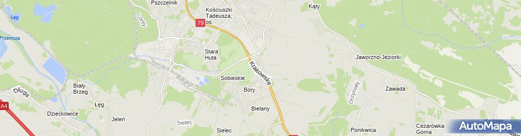 Zdjęcie satelitarne Bik Zakład Handlowo Usługowy Broczek Wojciech Kurek Barbara