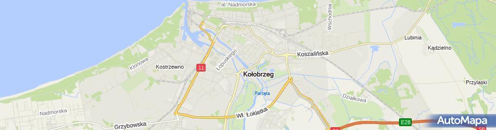 Zdjęcie satelitarne Biuro Biegłych Rewidentów Akctep Henryka i Witold Dembscy