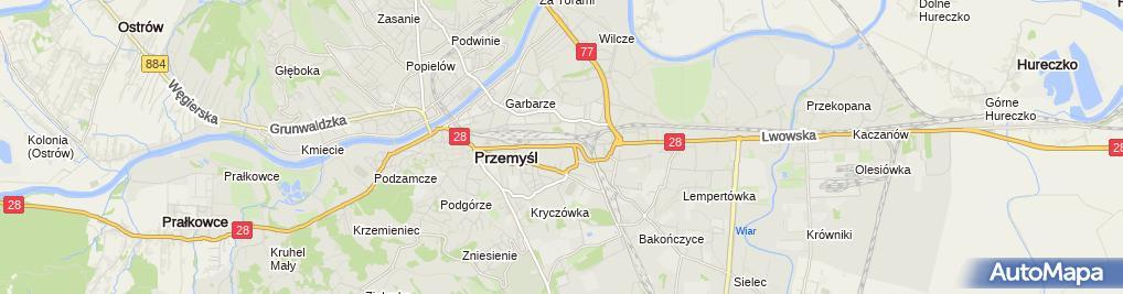 Zdjęcie satelitarne Biuro Finansowo Prawne Lewkowicz Consulting