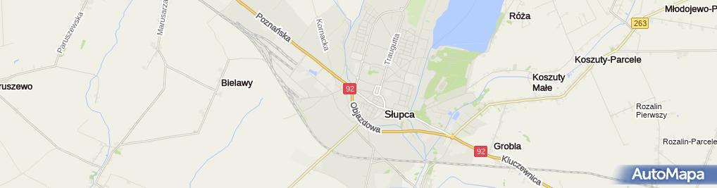 Zdjęcie satelitarne Biuro Geodezji Nadgrodkiewicz , Kuchowicz