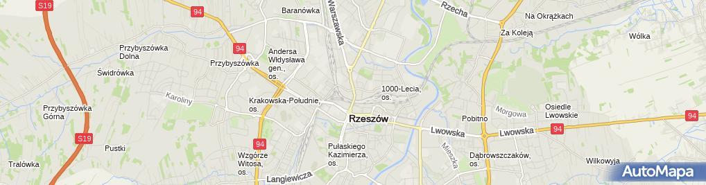 Zdjęcie satelitarne Biuro Handlowe Adam - Paweł Wąs