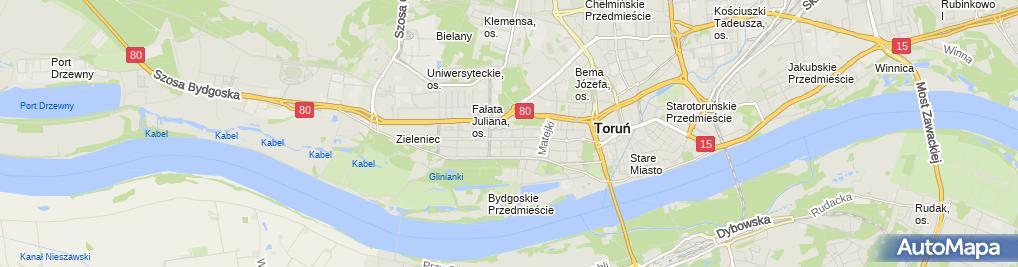 Zdjęcie satelitarne Biuro Kompletacji Dostaw Prolix