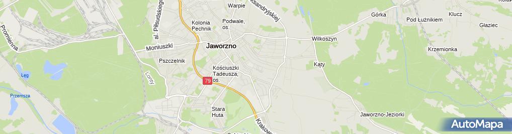 Zdjęcie satelitarne Biuro Marketingowe