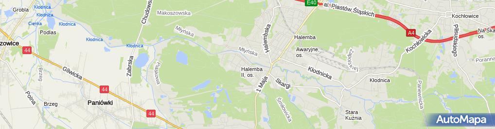 Zdjęcie satelitarne Biuro Organizacji Imprez