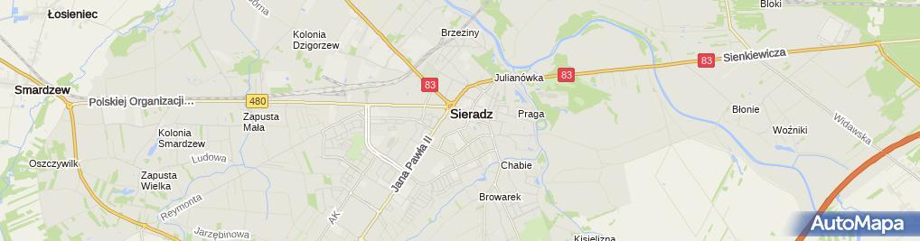 Zdjęcie satelitarne Biuro Rachunkowe Numina