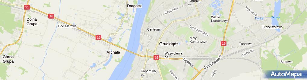 Zdjęcie satelitarne Biuro Ubezpieczeń Agnieszka Nowacka