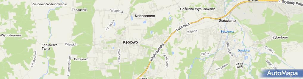 Zdjęcie satelitarne Biuro Usług Budowlanych Melwod Krystyna Miotke