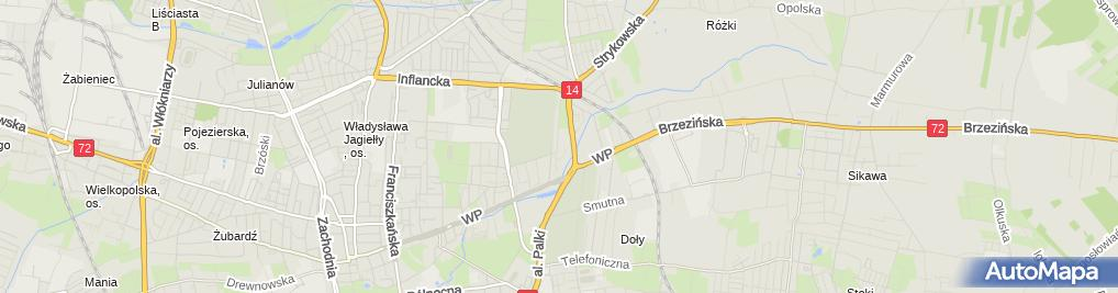 Zdjęcie satelitarne Biuro Usług Prawniczych Jerzy Trzeciak Zbigniew Królak