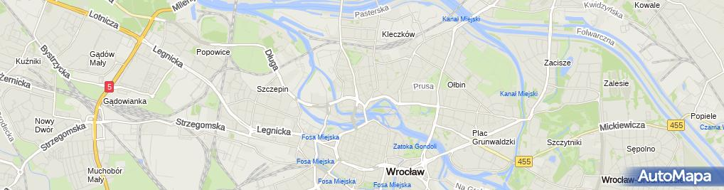 Zdjęcie satelitarne BJW Jan Wojciechowski Beata Jastrzębska