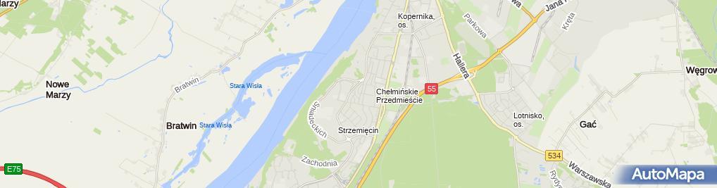 Zdjęcie satelitarne Blacharstwo Samochodowe Behrendt Waldemar Kempa Aleksander