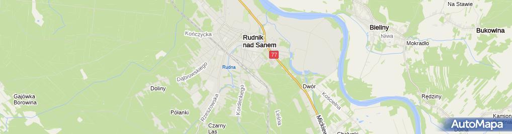 Zdjęcie satelitarne Blacharstwo Samochodowe