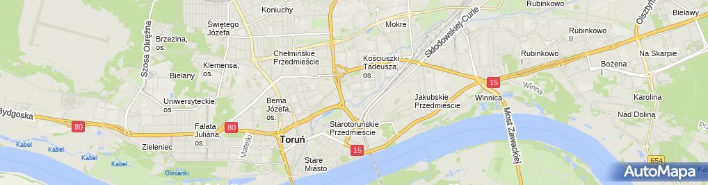 Zdjęcie satelitarne Bogdan Szczechowski - Działalność Gospodarcza