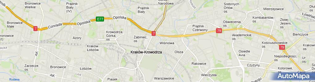 Zdjęcie satelitarne Bogusław Kądziołka Hydrat