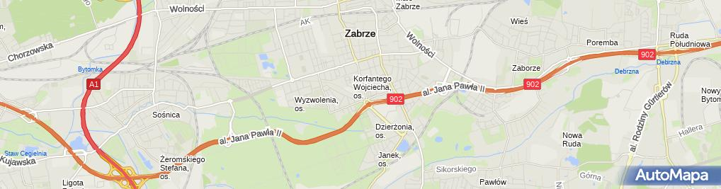 Zdjęcie satelitarne Bogusław Miko - Działalność Gospodarcza